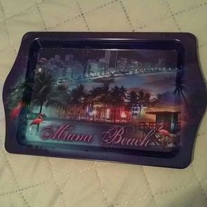 Other - Tray from Miami Beach